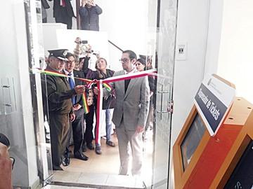 Fiscalía inaugura nueva plataforma de servicios
