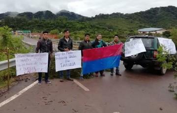 Tarija vive un paro cívico en defensa de Tariquía