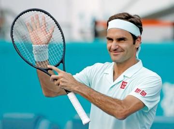 Miami: Avanza Federer