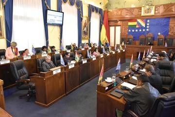 El Senado sanciona leyes  de iglesias y plazo electoral