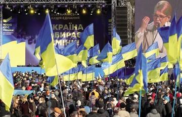 Ucrania cierra su campaña más reñida