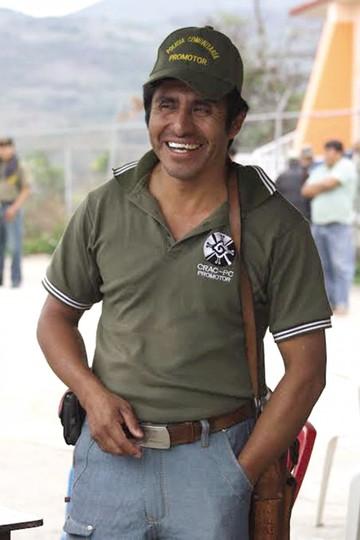 El defensor de derechos humanos, Gonzalo Molina