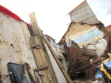 Lluvias afectaron a un centenar de viviendas