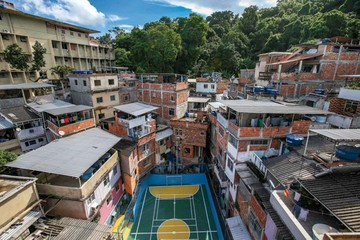 La favela de Río que ha logrado  ser oasis en medio de violencia