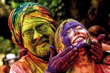 Holi, batalla de los colores que enloquece a la India
