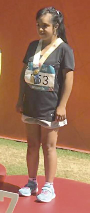 La atleta que sueña con convertirse en instructora de zumba y hoy mira a los Pluris