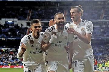 Benzema evita el sonrojo ante el colista Huesca