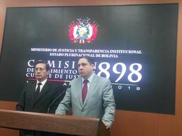 Comisión vaticina cambio en justicia penal boliviana