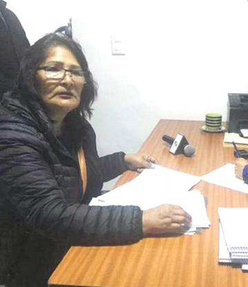 Fiscalía admite denuncia de Saavedra por Fancesa