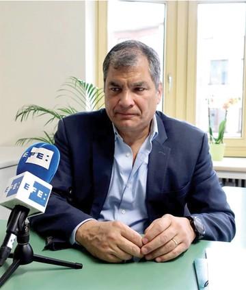 Correa critica la elección de nueva fiscal general