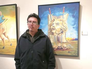 Kukoc invita a leer sus reflexiones en pintura