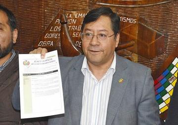 Arce: Bolivia se acerca a lograr grado de inversión