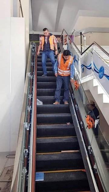 Aasana inspecciona obras en el aeropuerto Alcantarí