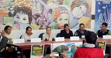 Las mujeres de Tariquía rechazan a las petroleras