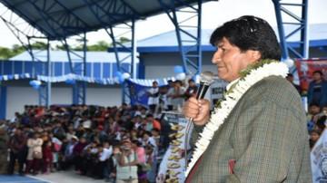 """Concejal del MAS en Cochabamba pide que Evo gobierne """"hasta donde Dios quiera"""""""