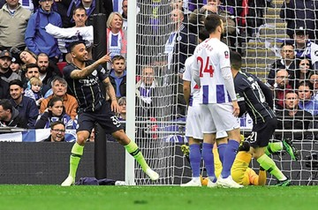 Manchester City  vence el Brighton  y avanza a la final