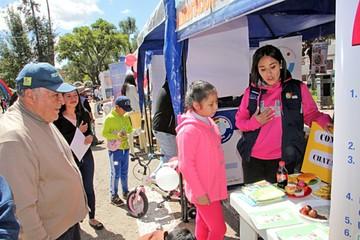 Día Mundial de la Salud se celebra con una feria