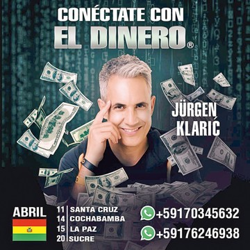 Gira de Jürgen Klaric  concluirá en la Capital
