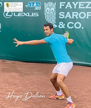 Dellien no pudo en Houston