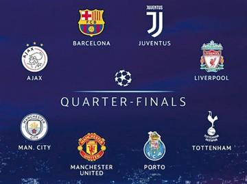 Tottenham-City y Liverpool-Oporto abren los cuartos