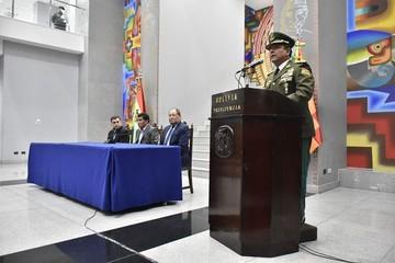 Yuri Calderón asume como nuevo Comandante policial