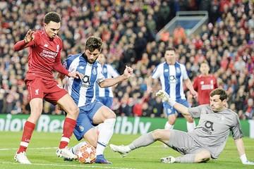 El Liverpool da el golpe