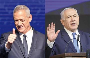 Israel: Gantz y Netanyahu se declaran vencedores