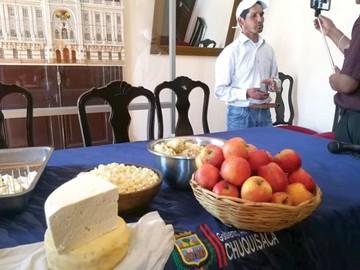 Todo listo para la Feria del Queso y la Manzana