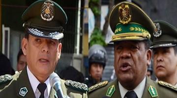 Dos ex comandantes son procesados por designación irregular de destinos
