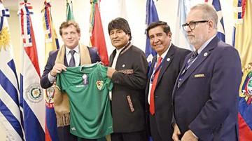 Bolivia pretende la Copa