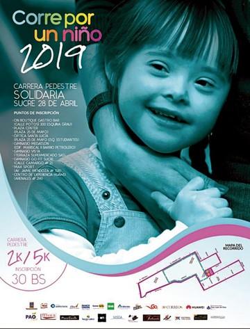 Corre por un niño en beneficio del Síndrome de Down