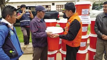 Entregan alimentos a cuatro municipios