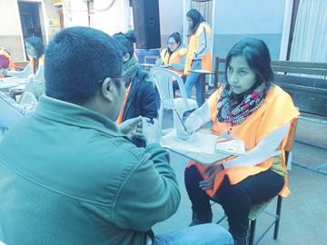 Censo carcelario alcanza  a 740 privados de libertad