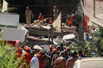 Aumentan a siete los muertos tras derrumbe dos edificios en Río de Janeiro