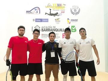 Bolivia domina el Panamericano de raquet