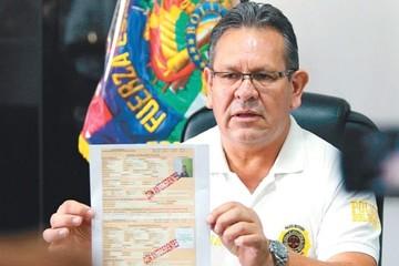 Exigen suspensión de policías vinculados presuntamente al narcotráfico