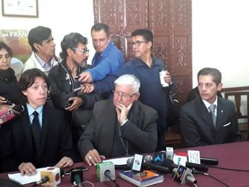Iglesia presenta programa de Semana Santa en Sucre