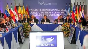Unasur: Bolivia cede presidencia a Brasil y éste anuncia retiro