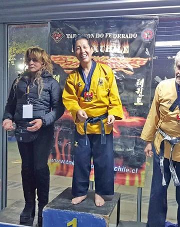 Taekwondista obtiene primer lugar en Chile