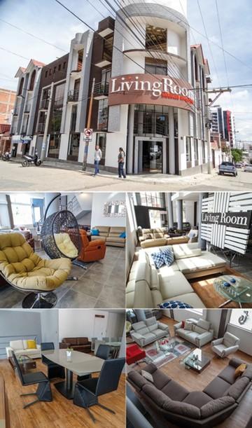 """""""Living Room"""", muebles para el hogar y la oficina, ahora llega a Sucre"""