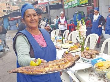Ferias de Semana Santa  se instalan en mercados