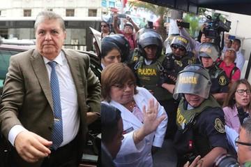 Ex presidente Alan García es hospitalizado tras dispararse en una confusa operación policial