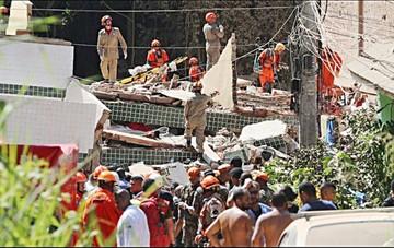 Brasil: Suben a 22 los muertos por caída de edificios