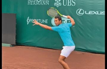 Hugo Dellien gana y avanza en el ATP 500 de Barcelona