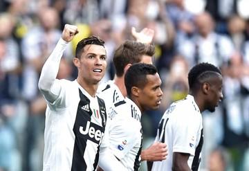 """Cristiano logra su primer """"Scudetto"""""""