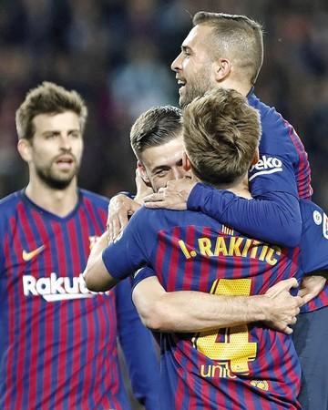 Barcelona ya hace cuentas