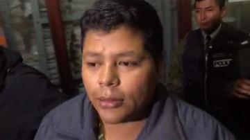 Suspenden audiencia de Franclin Gutiérrez por amenaza de bomba