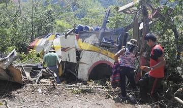 Fatal accidente en La Paz deja 25 personas fallecidas