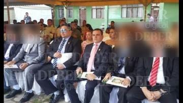 Fotografía muestra que narco fue reconocido en la FELCC