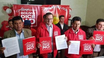 Ortiz dice que si es electo, los actos del 6 de Agosto serán en Sucre
